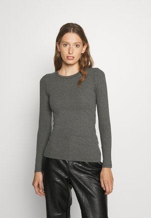 ALEXA - Long sleeved top - dark grey