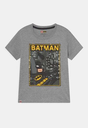 Camiseta estampada - grey melange