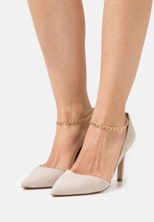 YASJENNA  - Classic heels - desert taupe