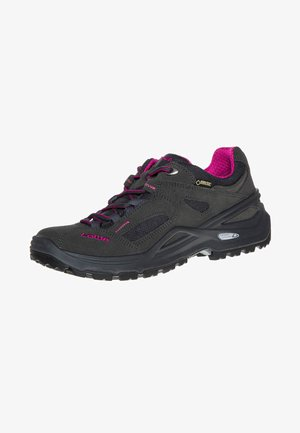 SIRKOS GTX - Hiking shoes - anthrazit/beere