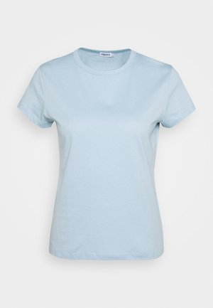 FLARED CAP SLEEVE - Basic T-shirt - pale blue