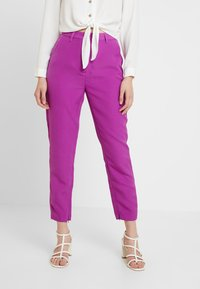 Mossman - THE VICTORY PANT - Trousers - purple - 0