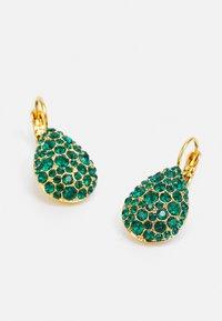 Dyrberg/Kern - BETTA  - Earrings - green/gold-coloured - 2