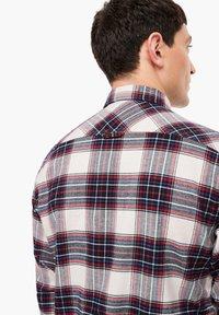 s.Oliver - Shirt - offwhite check - 4