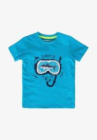 MINOTI - Print T-shirt - turquois - 0