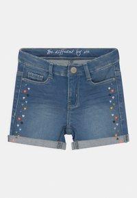 Staccato - KID - Denim shorts - mid blue denim - 0