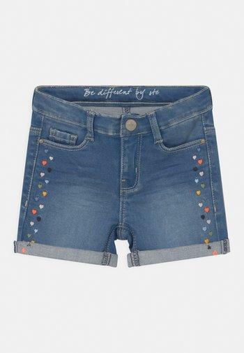 KID - Denim shorts - mid blue denim