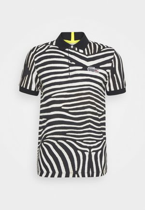 LACOSTE X NATIONAL GEOGRAPHIC - Polo shirt - black/white