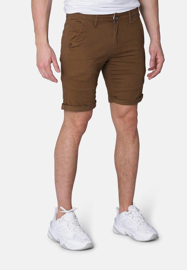 GILFORD  - Shorts - coffee brown