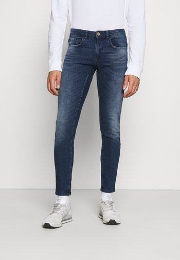 LYON - Jeans Skinny Fit - dark denim
