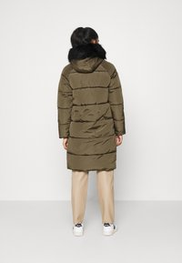 ONLY - ONLMONICA LONG PUFFER COAT  - Winter coat - beech - 2