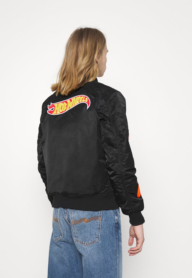 HOT WHEELS - Bomber Jacket - black