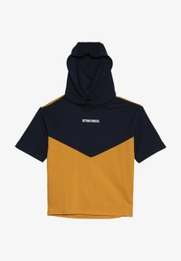 Friboo - Print T-shirt - black iris/yellow - 2