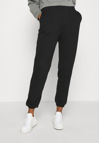 Even&Odd - BASIC - Loose Fit Joggers - Pantalones deportivos - black - 0