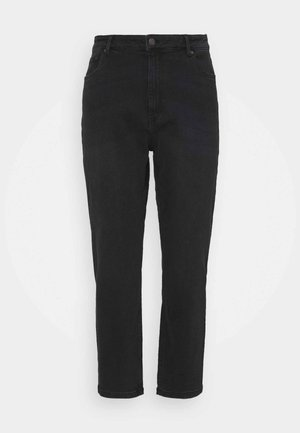 VMJOANA MOM - Jeans relaxed fit - black