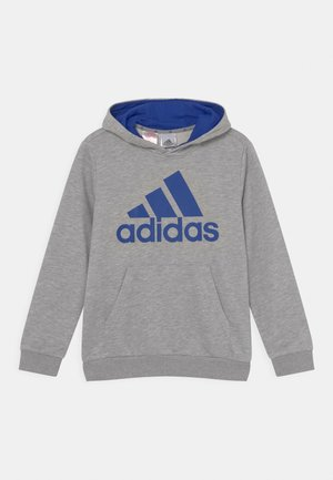 Bluza z kapturem - medium grey heather/bold blue