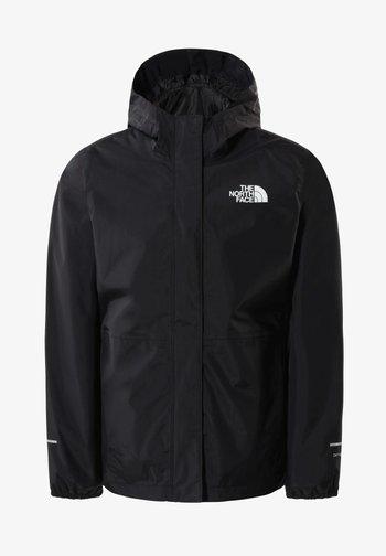 DREW PEAK - Regenjacke / wasserabweisende Jacke - black