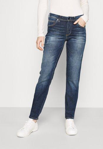 ALVA - Slim fit jeans - stone melange