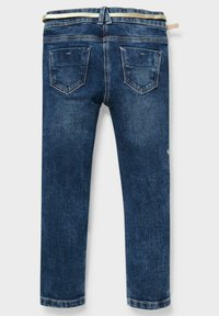 C&A - Slim fit jeans - denim dark blue - 1