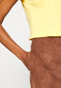 Esprit - A-line skirt - brown - 4
