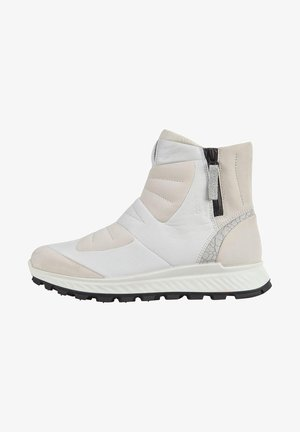 EXOSTRIKE - Classic ankle boots - white/white