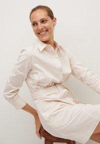 Mango - MEXI - Shirt dress - beige - 3