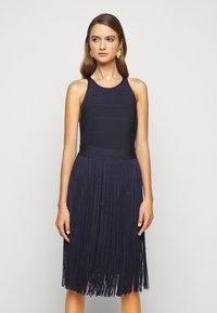 Hervé Léger - Cocktail dress / Party dress - dark navy - 0