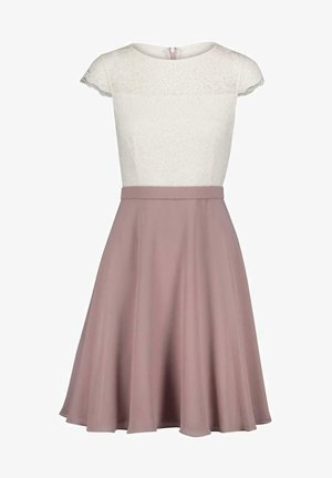 COCKTAIL - Cocktail dress / Party dress - weiß-rosa