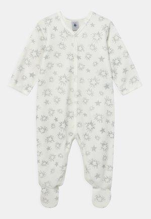 DORS BIEN UNISEX - Sleep suit - marshmallow/argent