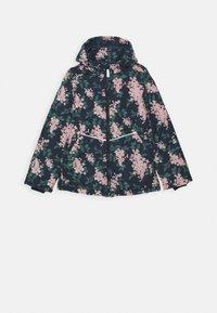 Name it - NKFMAXI JACKET FLOWER - Zimní bunda - dark sapphire - 0