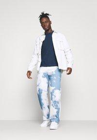Blend - Stickad tröja - dark denim - 1