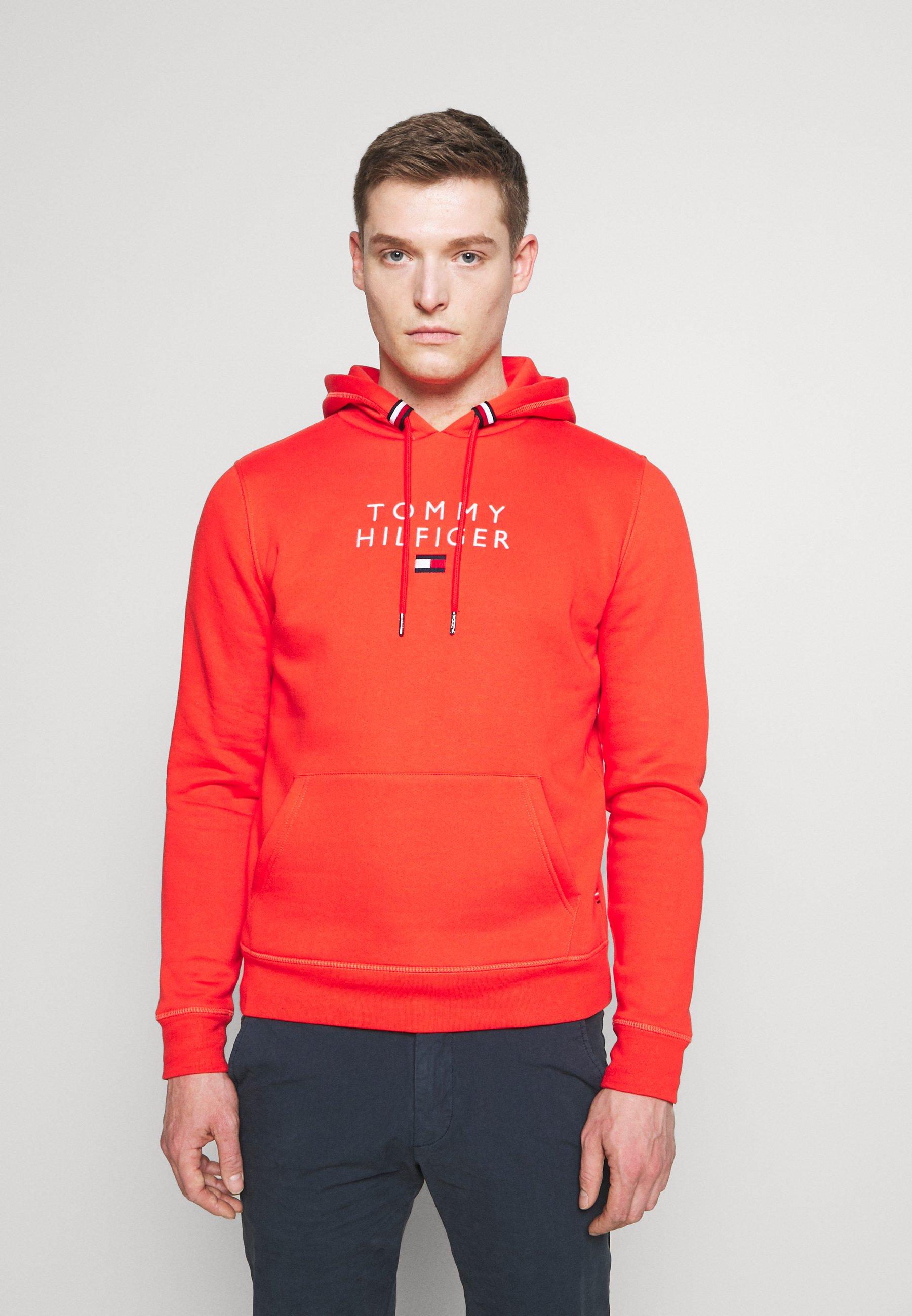 Herren STACKED FLAG HOODY - Sweatshirt