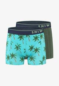 Shiwi - 2 PACK - Onderbroeken - blue fish - 4