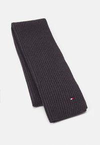 Tommy Hilfiger - BEANIE SCARF UNISEX SET - Scarf - charcoal gray - 1