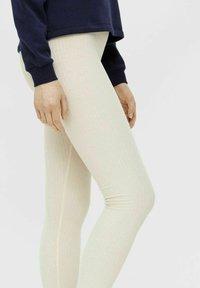 Pieces - CRIBBI - Leggings - Trousers - birch - 3