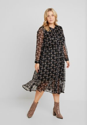 DRESS LONG - Day dress - black