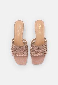 Alma en Pena - Pantofle na podpatku - old pink - 5