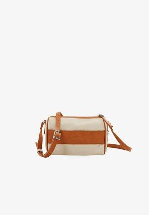 Across body bag - beige, orange
