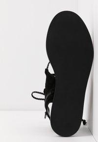 Liu Jo Jeans - THEA  - Sandalias tobilleras - black - 6