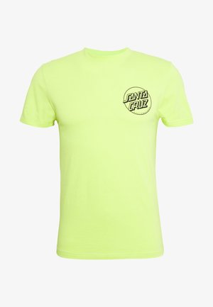 unisex opus dot - Print T-shirt - safety green