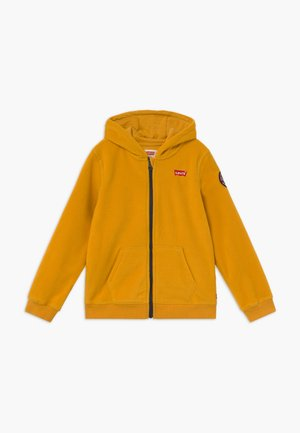 LOGO PATCH FULL ZIP - Fleecejas - golden yellow