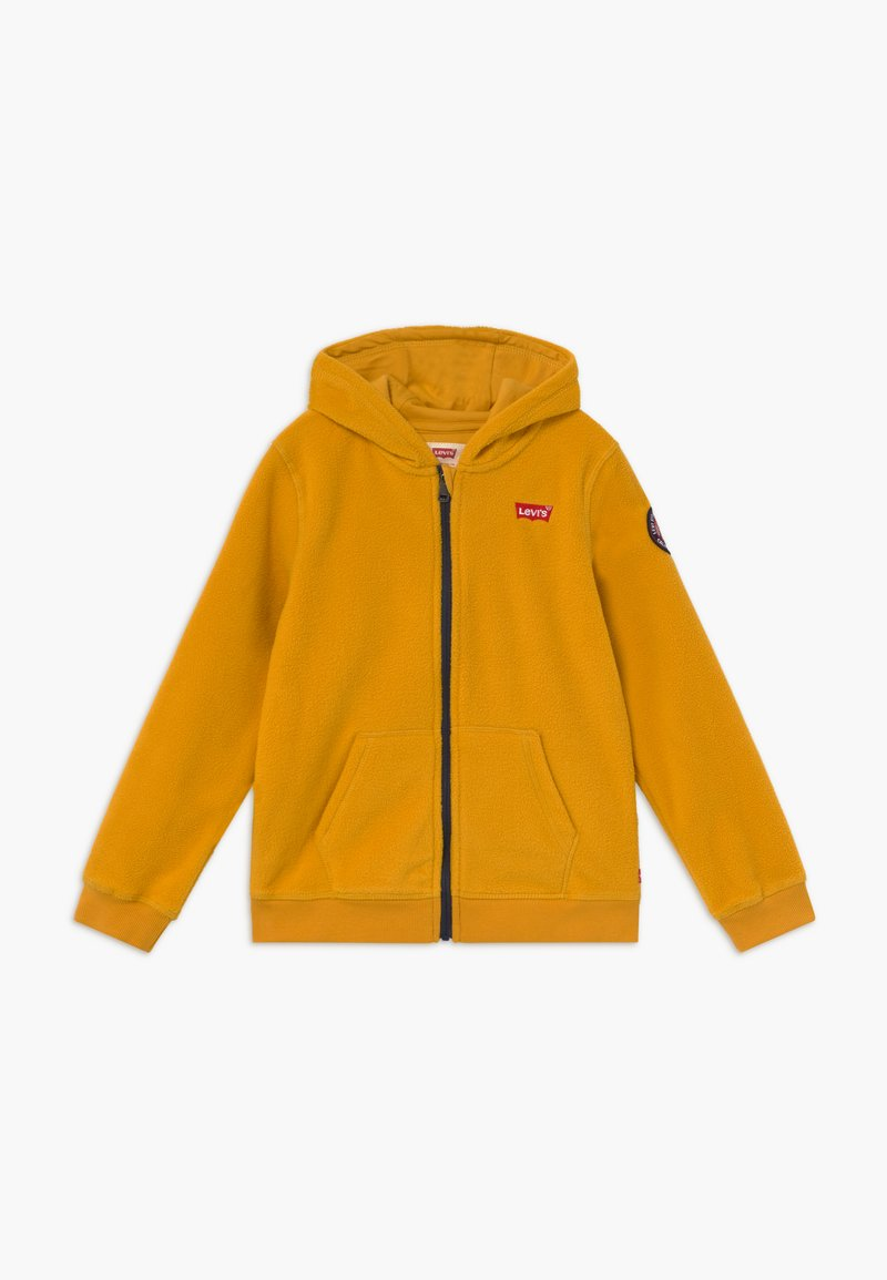 Levi's® - LOGO PATCH FULL ZIP - Fleecejas - golden yellow