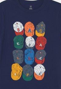 GAP - Print T-shirt - elysian blue - 2