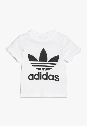 TREFOIL TEE UNISEX - T-shirts print - white/black
