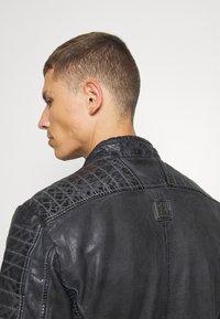Freaky Nation - BEST BUDDY - Leather jacket - black - 4