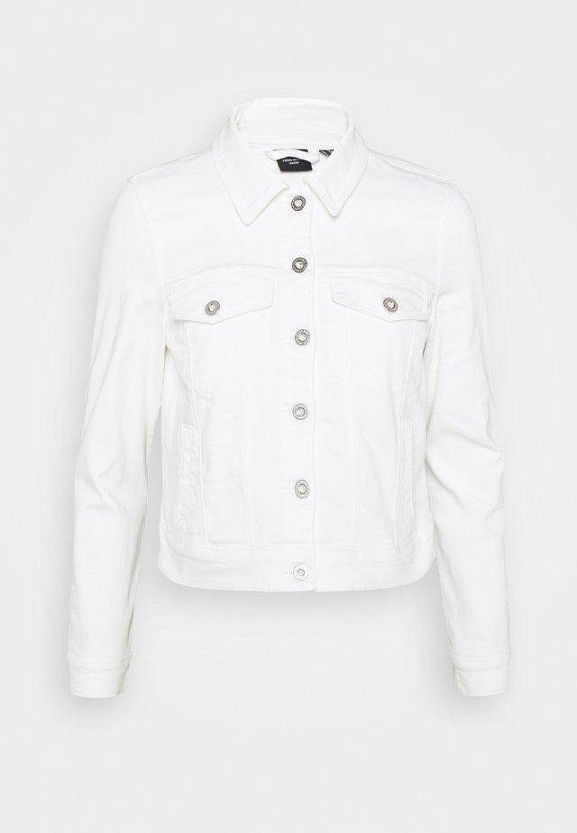 VMHOTSOYA JACKET  - Denim jacket - bright white