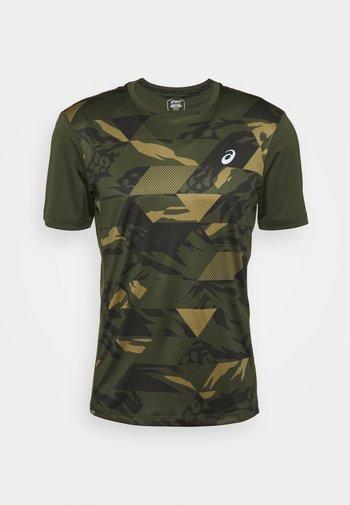 FUTURE CAMO - Camiseta estampada - smog green