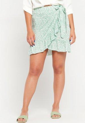 A-line skirt - licht green