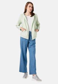 LC Waikiki - Zip-up sweatshirt - green - 1
