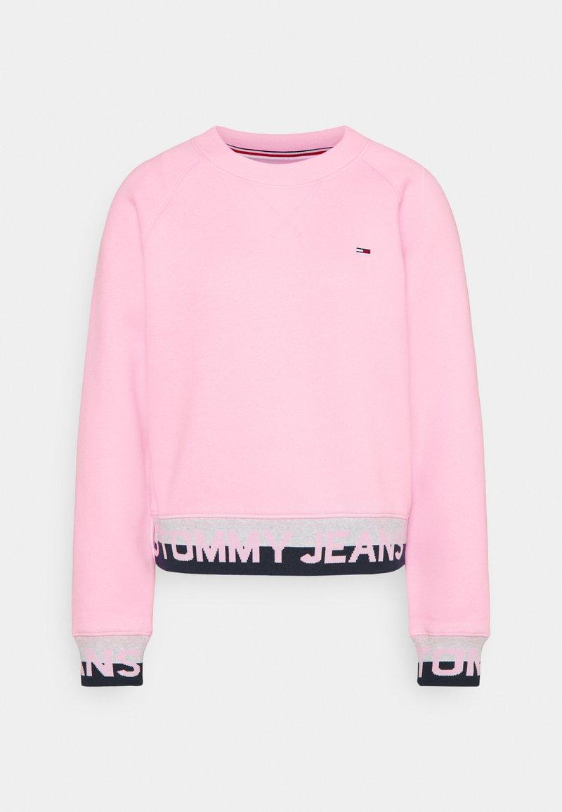 Tommy Jeans - BRANDED HEM - Bluza - romantic pink